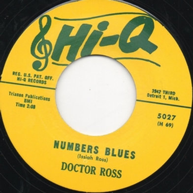 DOCTOR ROSS Numbers Blues