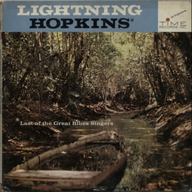 LIGHTNIN' HOPKINS - Last Of The Great Blues Singers