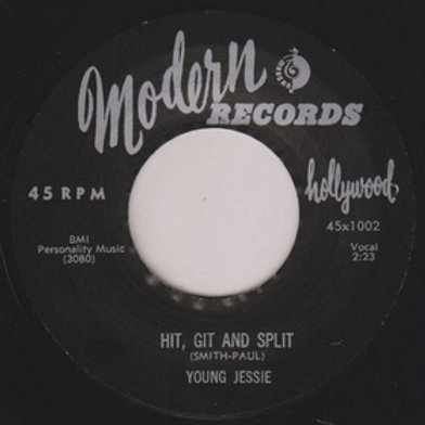 YOUNG JESSIE - Hit, Git And Split
