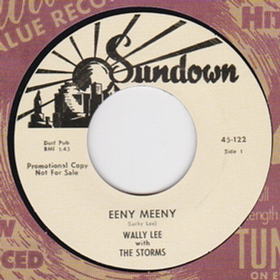 WALLY LEE WITH THE STORMS - Eeny Meeny