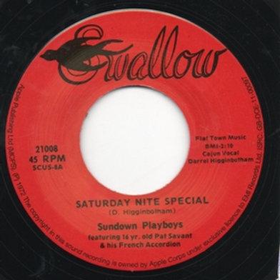 SUNDOWN PLAYBOYS - Saturday Nite Special