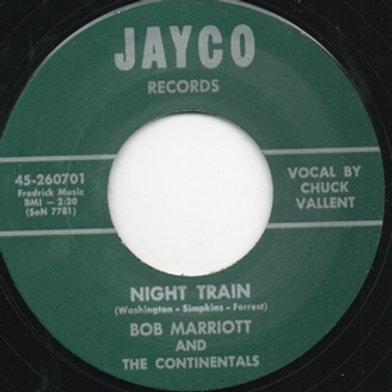 BOB MARRIOTT AND THE CONTINENTALS - Night Train