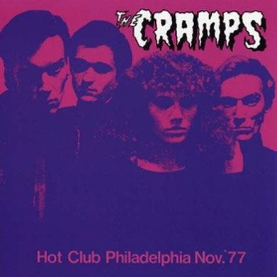 CRAMPS - Hot Club Philadelphia Nov. 77