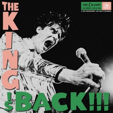 CRAMPS - The King Is Back!!!
