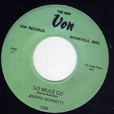 JOHNNY BURNETTE - You're Undecided