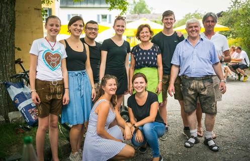 Das Team der Fischerei Huber
