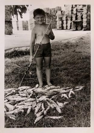 Stefan als 5-Jähriger