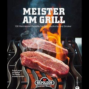 Grillbuch Meister am Grill vom Grillexperten Andreas Rummel