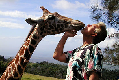 Gregory Appleby, Giraffe, Maui, Hawaii,