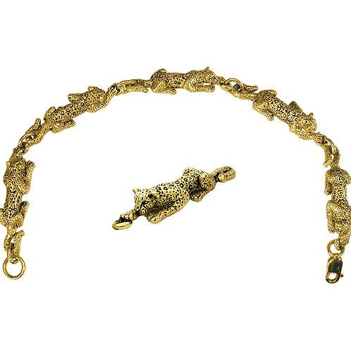 Leopard Link Bracelet