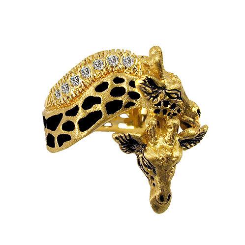 Giraffe Pair Ring