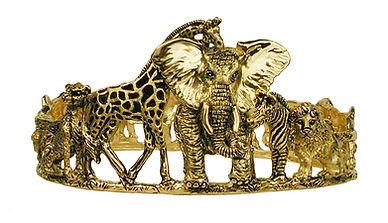 buffalo, Elk, Kudu, Sable, 18kt Gold, Fine jewelry, Pendants, necklaces, rings, earrings, Diamonds,
