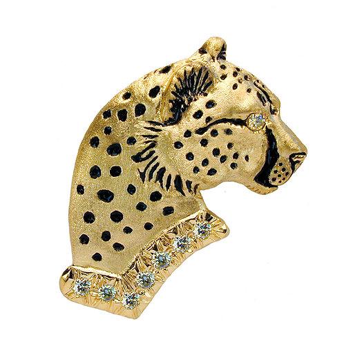 Cheetah Bust Profile