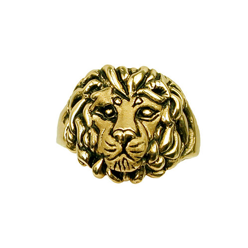 Greek Lion Ring