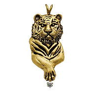 Tiger, Pendants, necklaces, rings, earrings, Diamonds, 18kt Gold, Fine jewelry,