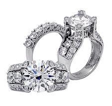 Diamonds, Pendants, necklaces, rings, earrings, 18kt Gold, Fine jewelry,