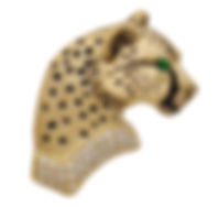 Cheetah, Pendants, necklaces, rings, earrings, Diamonds, 18kt Gold, Fine jewelry,