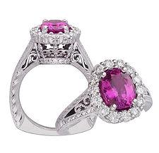 Sapphire, Diamonds, Pendants, necklaces, rings, earrings, 18kt Gold, Fine jewelry,