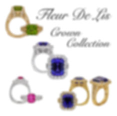 Appleby's animals Crown Collection , Tanznaite, Sapphire, Peridot, Fine jewelry, 18kt Gold, Gem stones, rings, pendants, necklaces, earrings