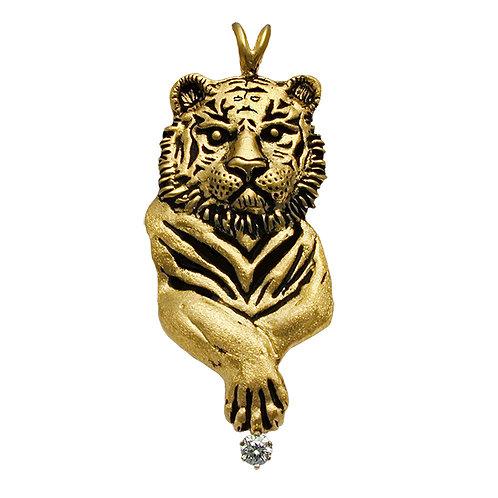 Tiger Paw Pendant