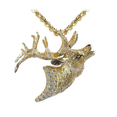 Elk Bust Pave