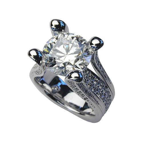 Cobra Engagement Ring