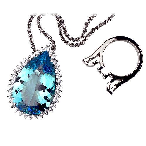 Aquamarine & Diamonds