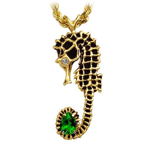 Emerald Seahorse