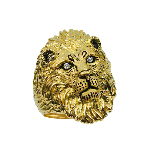 African Lion Ring 2