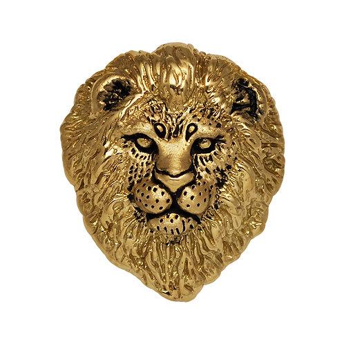 Lion Bust Pendant