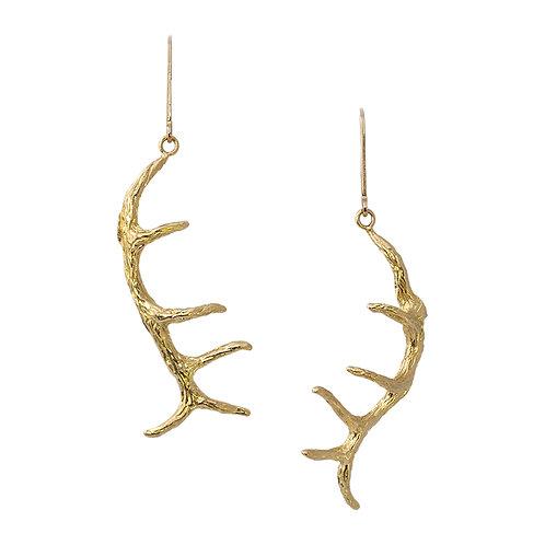 Elk Antler Earrings