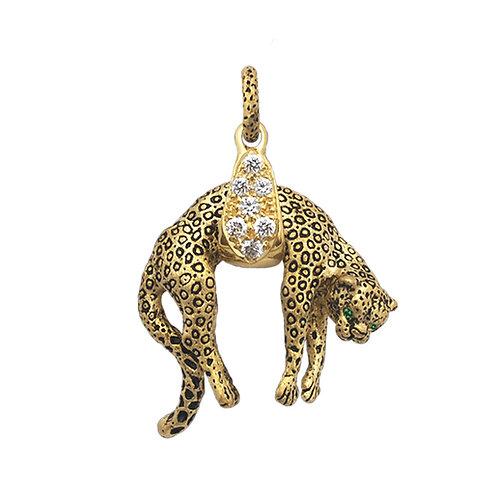 Leopard Drape Pendant