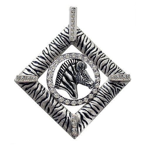 Zebra Diamond Square