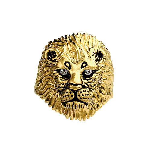 Lion Small Ring