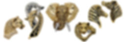Animals collection, Diamonds, Gems, 18kt Gold, Fine jewelry,