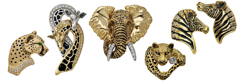 Animals collection, Diamonds, Gems, 18kt Gold, Fine jewelry,