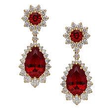 Ruby, Diamonds, Pendants, necklaces, rings, earrings, 18kt Gold, Fine jewelry,