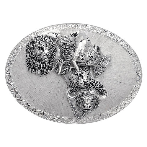 Safari Belt Buckle Big 5