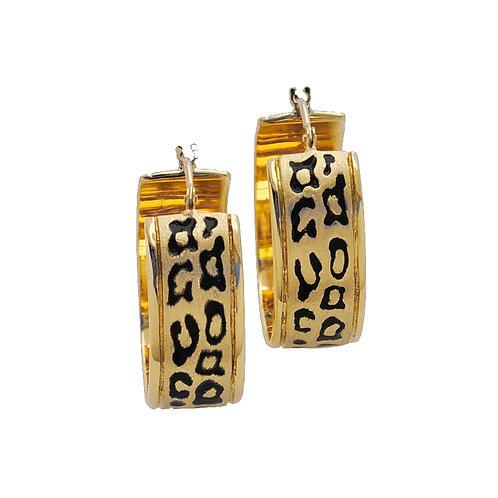 Leopard Cuff Earrings