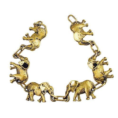 Elephant Links Bracelet