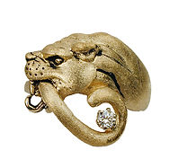 Panther, Pendants, necklaces, rings, earrings, Diamonds, 18kt Gold, Fine jewelry,