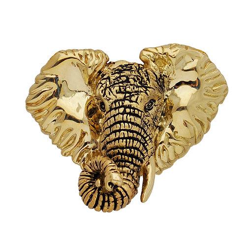 Elephant Bust Pendant