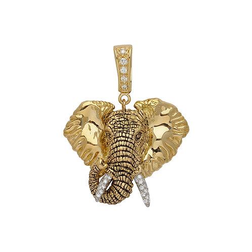 Elephant Charge w/Diamond Clip over bail