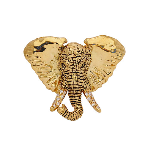 Elephant Charge Pendant small