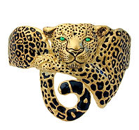 Leopard, Pendants, necklaces, rings, earrings, Diamonds, 18kt Gold, Fine jewelry,