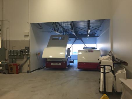Installation de notre nouvelle usine au Canada, à Terrebonne