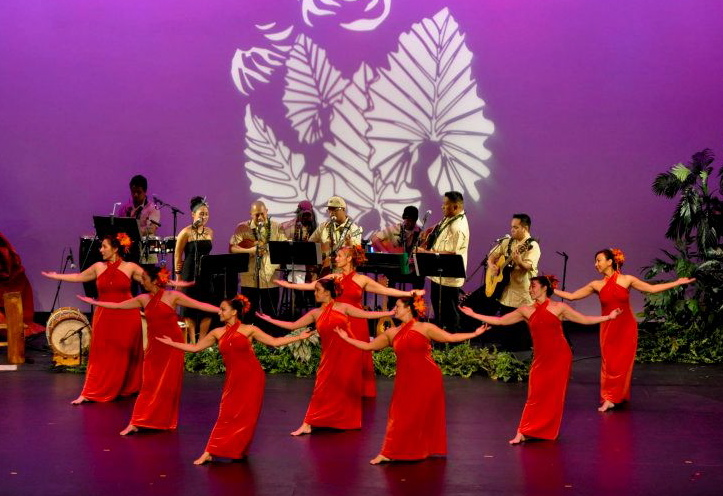 Lehua dancing Hi`ilawe