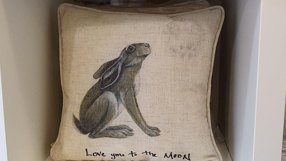 Love To The Moon Cushion