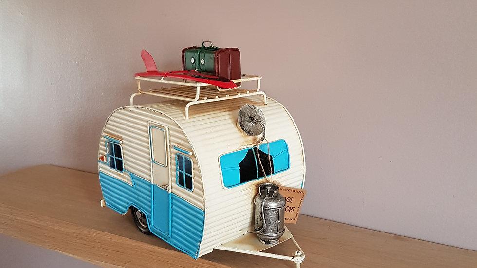 Retro Tin Caravan