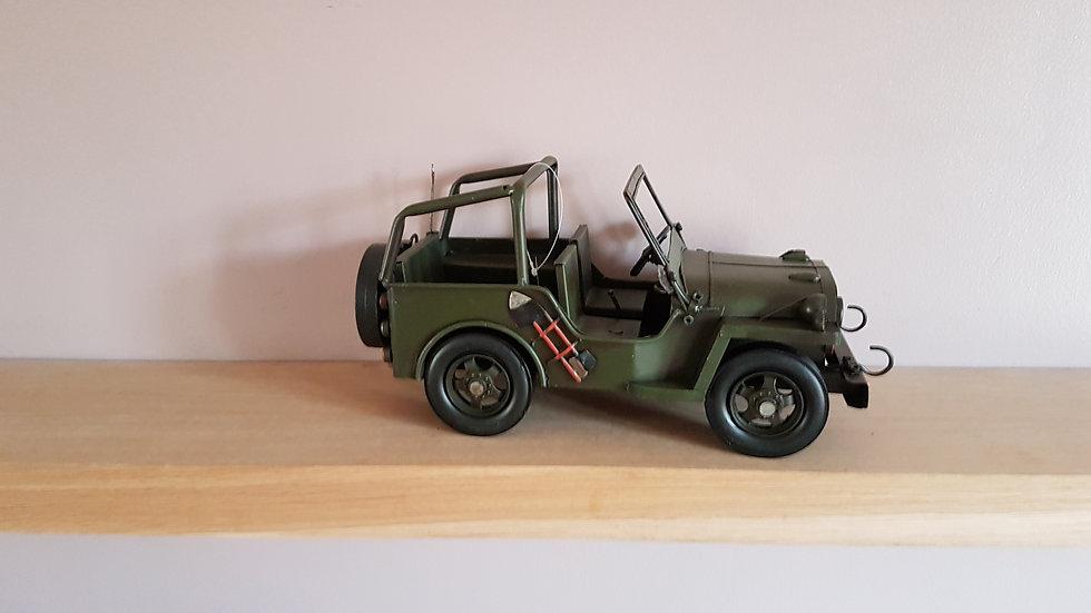 Jeep Metal Ornament